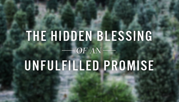 The Hidden Blessing of an Unfulfilled Promise